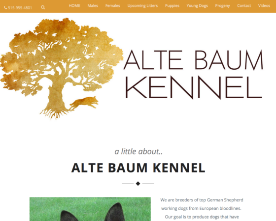 Website – Kennel