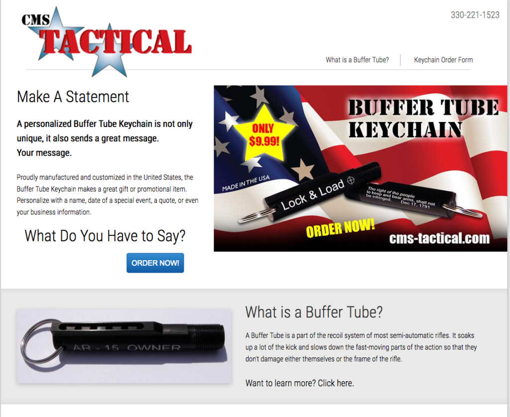 Website – Promotional Items